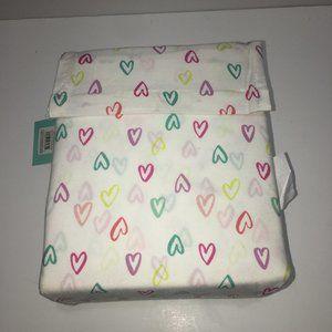 100% Cotton Queen Size Doodle Heart Sheet Set